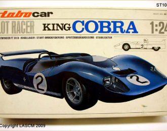 DeTomaso King Cobra 1/24 scale kit
